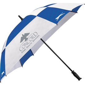 Customized Slazenger Cube Golf Umbrella