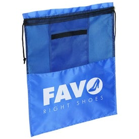Solelo Travel Drawstring Shoe Bag for Promotion