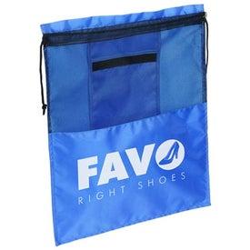 Solelo Travel Drawstring Shoe Bag for Promotion