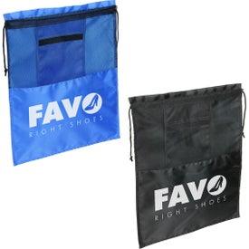 Solelo Travel Drawstring Shoe Bag