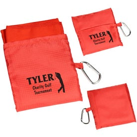 Sport Microfiber Towel in Pouch with Your Logo