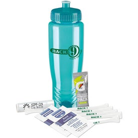 Sports Bottle Tee Kit Imprinted with Your Logo