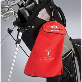 Spotless Swing Golf Towel for Advertising