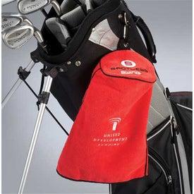 Spotless Swing Golf Towel for Advertising
