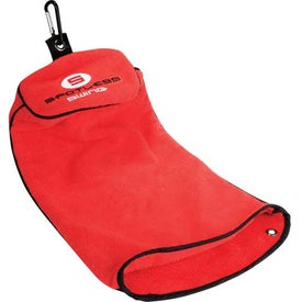 Spotless Swing Golf Towel Imprinted with Your Logo
