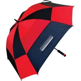 Logo Square Golf Umbrella