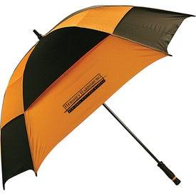 Square Golf Umbrella with Your Slogan