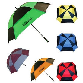 Imprinted Square Golf Umbrella