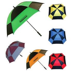 Imprinted Square Golf Umbrella