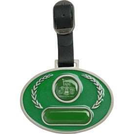 Customized Stained Glass Golf Bag Tag