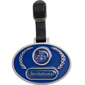 Stained Glass Golf Bag Tag for Customization