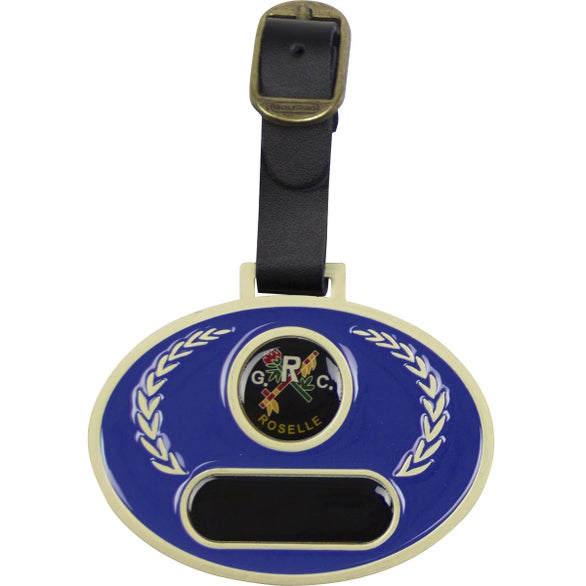 Stained Glass Golf Bag Tag