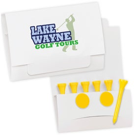 6-Tee Golf Packet Giveaways