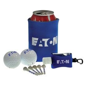 Tethered Sanitizer Golf Kit