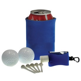 Personalized Tethered Sanitizer Golf Kit
