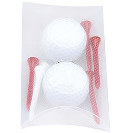 Titleist DT Roll Pillow Pack with 2 Balls for Your Company