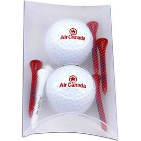 Titleist DT Roll Pillow Pack with 2 Balls