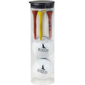 Top Flite XL Distance Par Pack with 2 Balls-N-Tees
