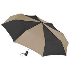 Monogrammed Totes Auto Open or Close Umbrella