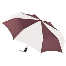 Printed Totes Auto Open or Close Umbrella