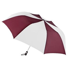 Branded Totes Golf Size Auto Open Folding Umbrella