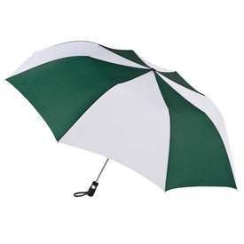 Monogrammed Totes Golf Size Auto Open Folding Umbrella