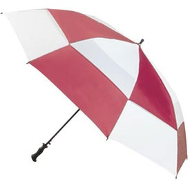Imprinted Totes Super Deluxe Premium Golf Umbrella