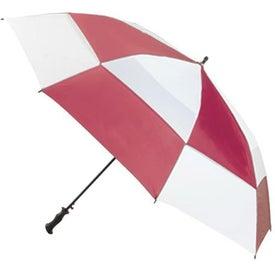 Imprinted Totes Super Deluxe Premium Golf Umbrella