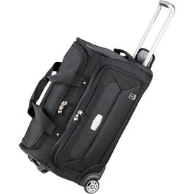 """TravelPro MaxLite 24"""" Wheeled Duffel with Your Slogan"""
