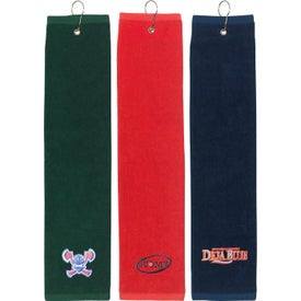 "Tri Fold Golf Towel (16"" x 22"")"