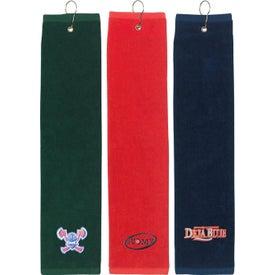 """Tri Fold Golf Towel (16"""" x 22"""")"""