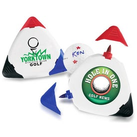 Triple Golf Ball Markers