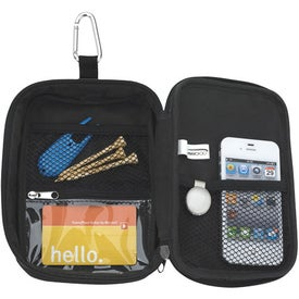 Imprinted Valuables Zippered Pouch