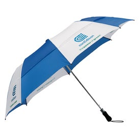 "Vented Folding Golf Umbrella (58"")"