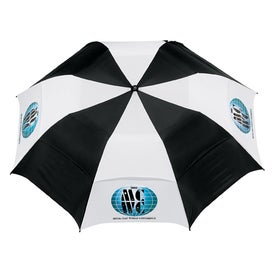 Personalized Vented Folding Golf Umbrella