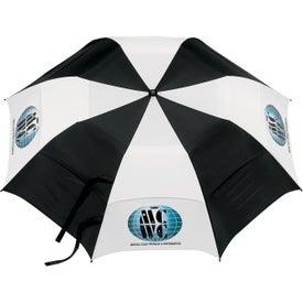 Personalized Vented Folding Golf Umbrella