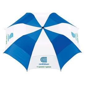 Vented Folding Golf Umbrella for your School