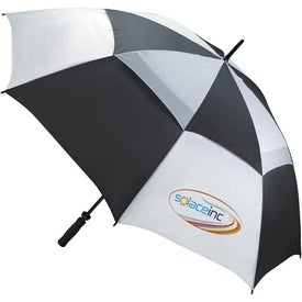 Custom Ventilated Large Golf Umbrella