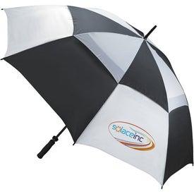 Custom Ventilated Large Golf Umbrella