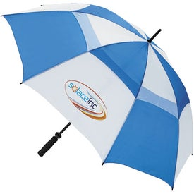 Ventilated Large Golf Umbrella for Marketing
