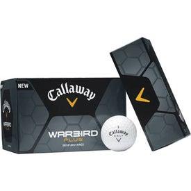 Logo Warbird Plus Golf Ball