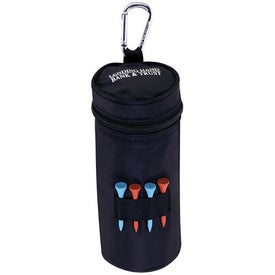 "Water Bottle Cooler - 2 3/4"" Tee for Your Company"