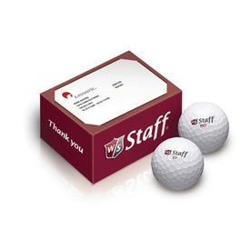 Wilson 2 Ball Thank You Box