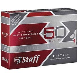 Wilson 50 Elite Golf Balls