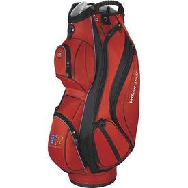 Imprinted Wilson Cart Plus Golf Bag