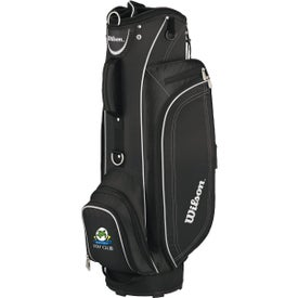 Wilson Lite Cart Bag with Your Slogan