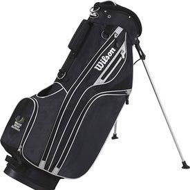 Monogrammed Wilson Lite Carry Golf Bag