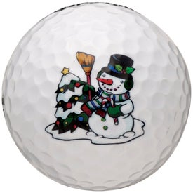 Advertising Wilson Ultra Par Pack with 3 Balls-N-Tees