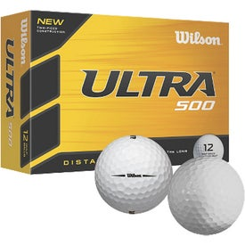 Personalized Wilson Ultra Ultimate Distance Golf Ball
