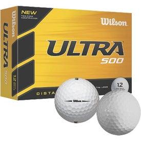Wilson Ultra Ultimate Titanium Distance Golf Ball